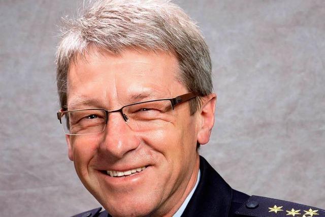 Alfred Oschwald wird neuer Leiter der Polizei Freiburg