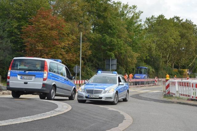 Explosionsgefahr in Breisach gebannt - Gas tritt nicht mehr aus