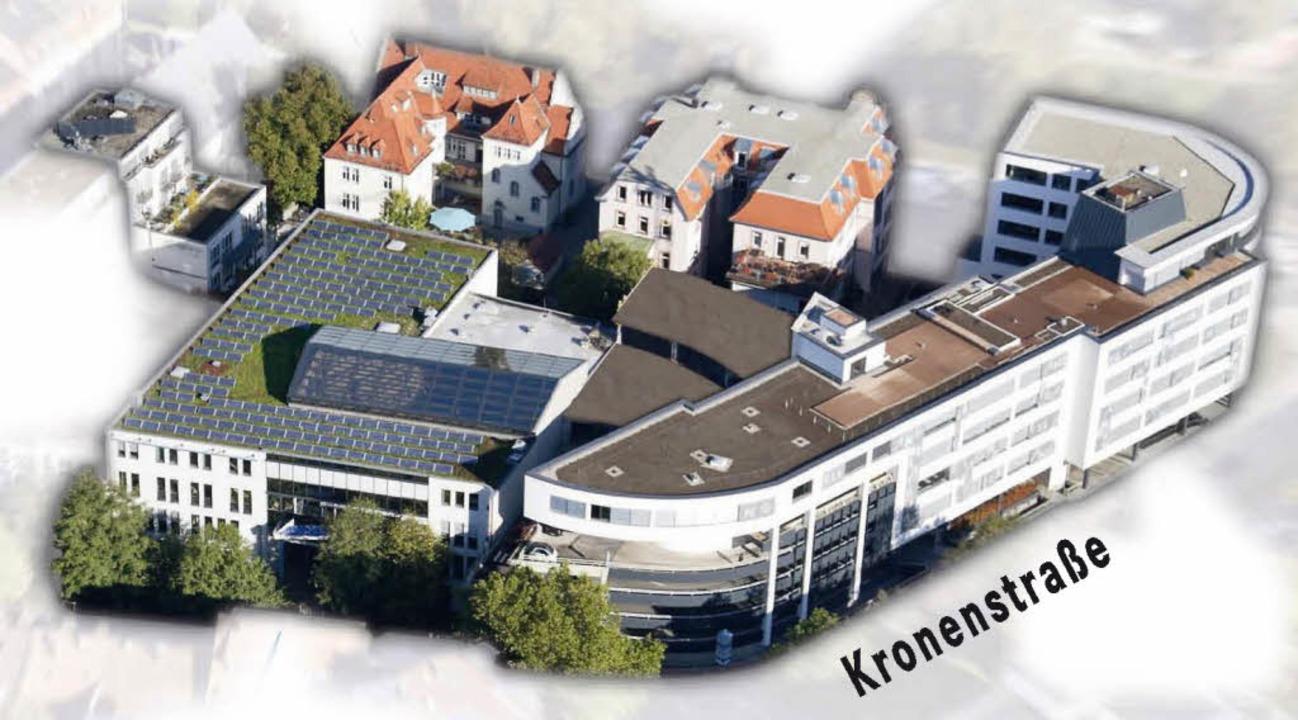 Der Angell-Campus mit der IUCE (oben, zweites Gebäude von links)   | Foto: angell