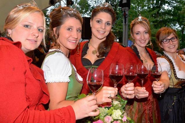 Badens größtes Weinfest ist eröffnet