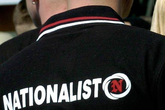 Rechte Propaganda und T-Shirts aus Bad Säckingen