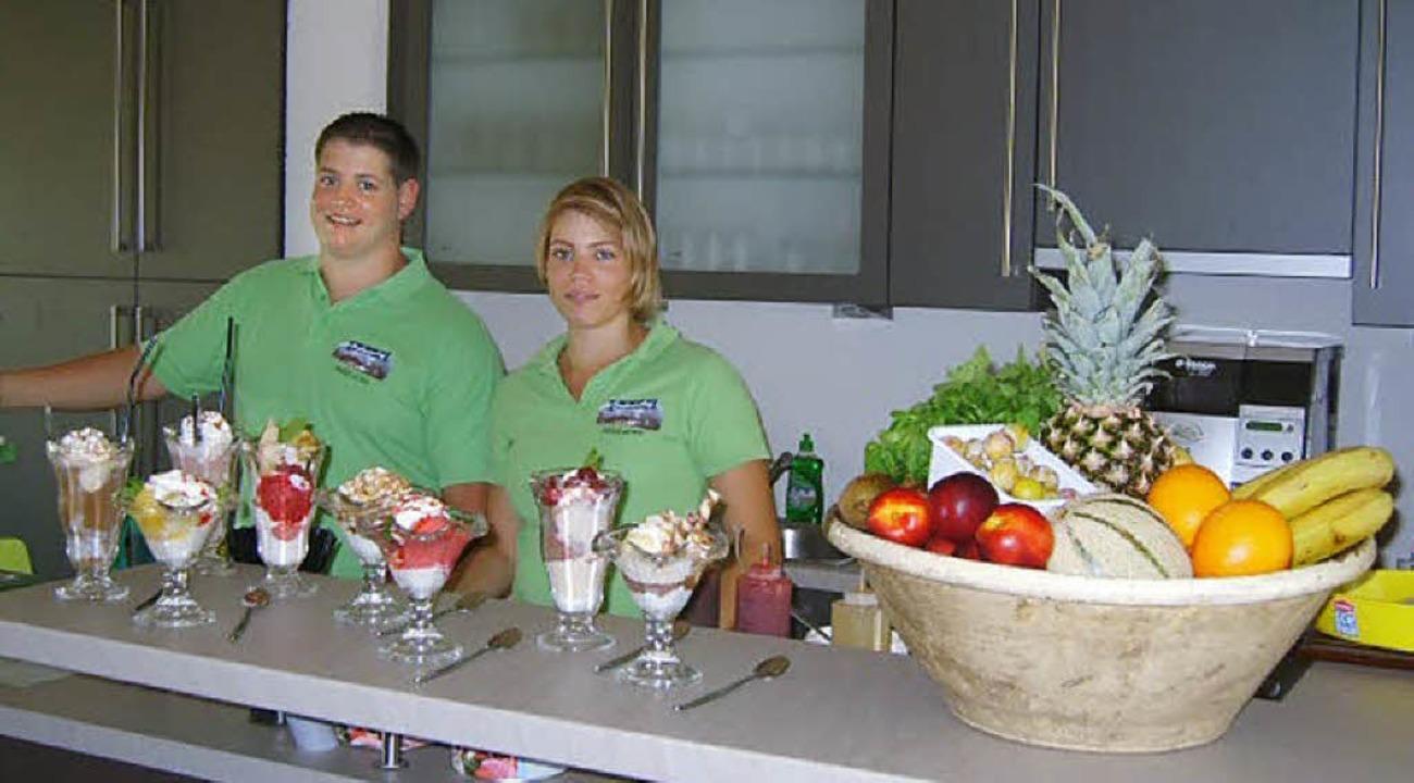 Bekommt Efringen-Kirchen ein Eiscafé? ...t hatte  man bereits  im Probebetrieb.  | Foto: privat