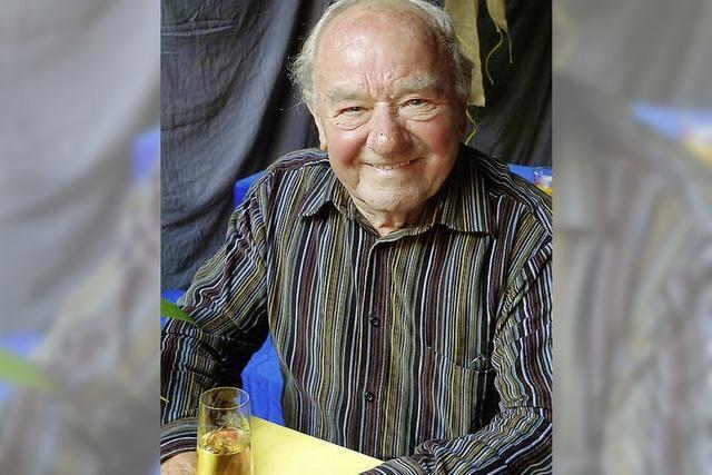 Hermann Stöcklin ist 85