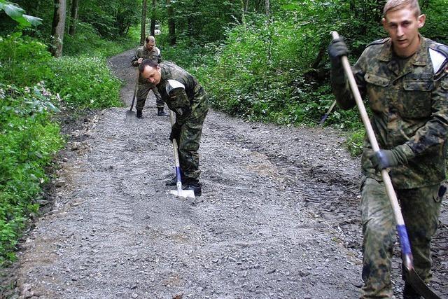 Wutachschlucht: Schlammlöcher auf dem Wanderweg müssen weg