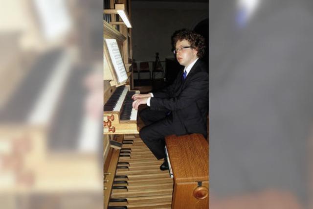 Die ganze Klangfülle einer Orgel