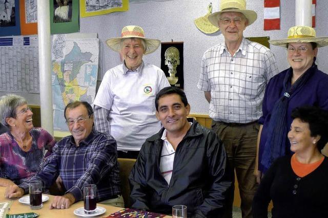 Peruanische Gäste bringen Nachrichten aus Rioja
