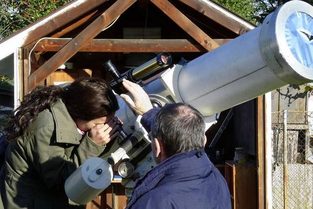 Die Sternwarte in Basel ist jeden Freitagabend geöffnet