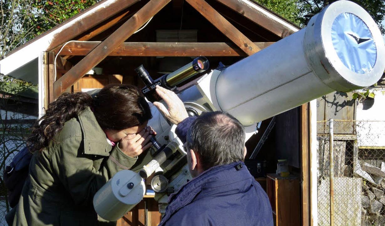 Auch bei Tage kann man interessante Beobachtungen machen.   | Foto: ZVG