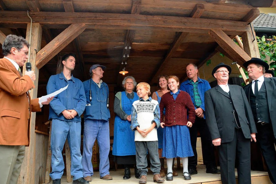 Impressionen vom <?ZP?> Schnecke-Fescht und der<?ZP?> Brauchtumsschau zu<?ZP?>  100 Jahre Stromversorgung im Dorf. (Foto: Tanja Bury)