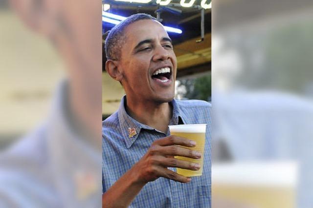 Präsident Obama gibt Bierrezepete zum Selberbrauen preis