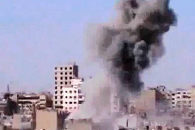 Rebellen attackieren Assads Luftwaffe
