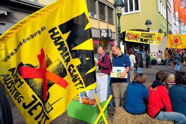In den 70er Jahren war Dialekt in Wyhl die Sprache des Protests