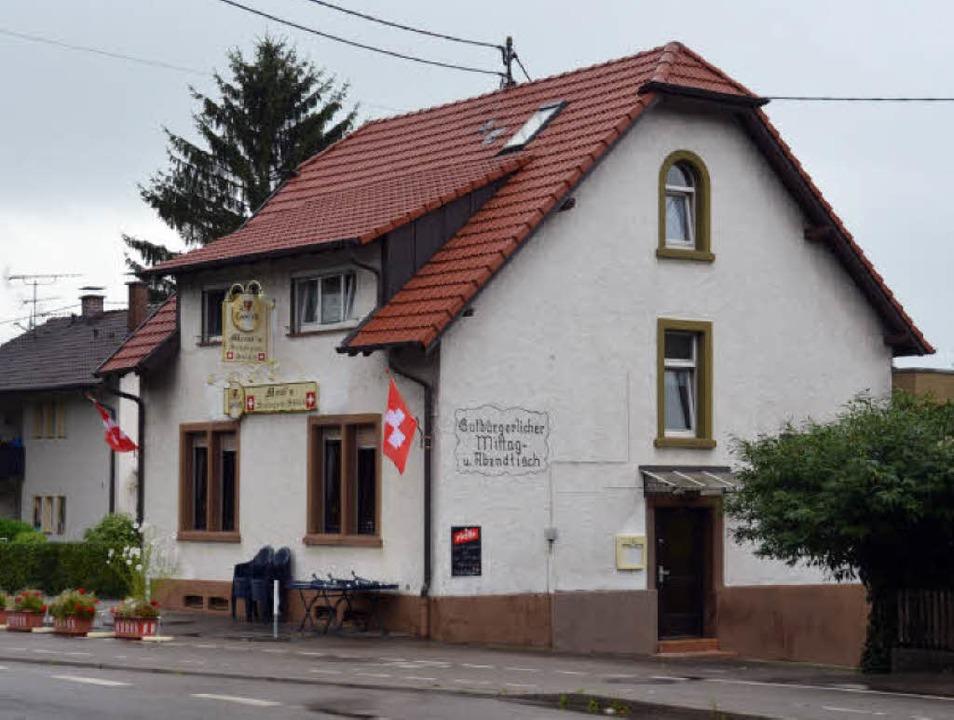 Das Gasthaus Leimstollen heute.  | Foto: Andrea Gallien