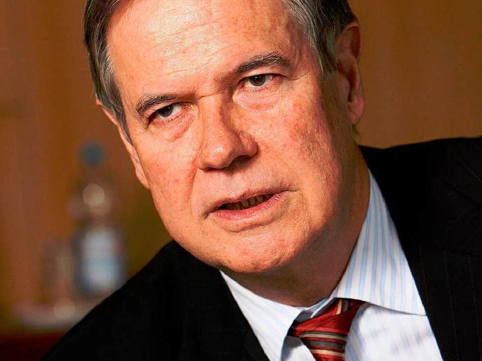 Gerhard Stratthaus wird Interimschef bei Rothaus.  | Foto: dpa