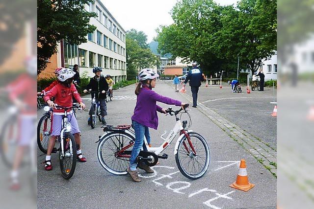 Fahrradspaß mit Lerneffekt