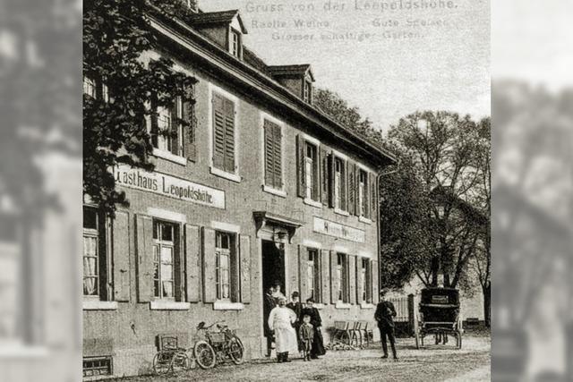 Gasthaus zur Leopoldshöhe steht seit 1836