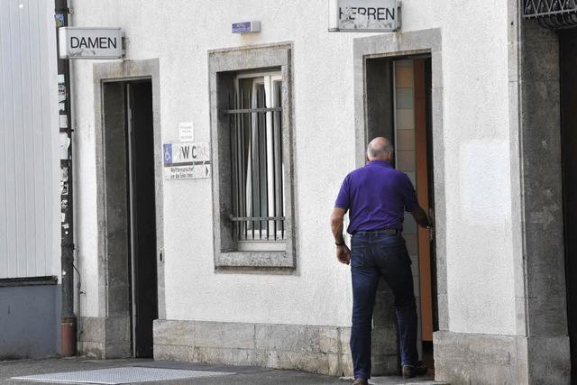 Stadträte kritisieren Zustand der Toiletten in der Innenstadt