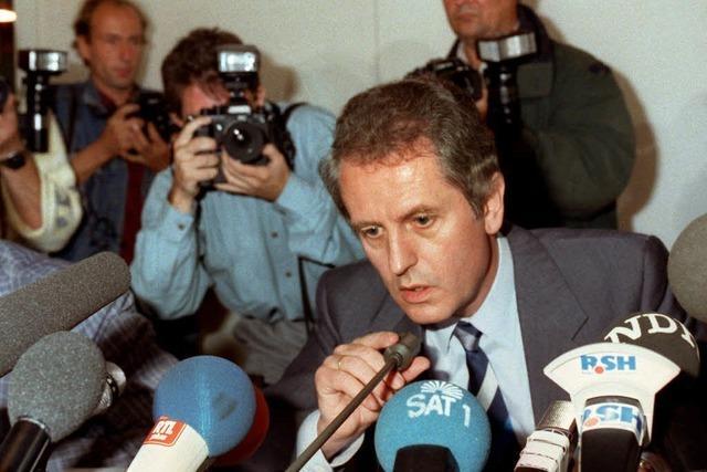 Uwe Barschel und sein Ehrenwort: 25 Jahre ist es her