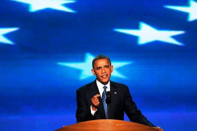 Obama sieht die USA an einer Wegscheide