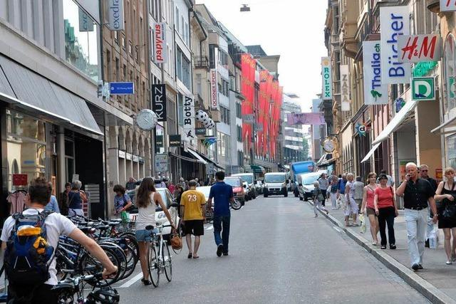 Autos werden aus der Basler Innenstadt verbannt