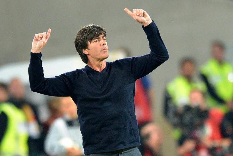 Die deutsche Nationalmannschaft besiegt Färöer 3:0. (Foto: dpa)