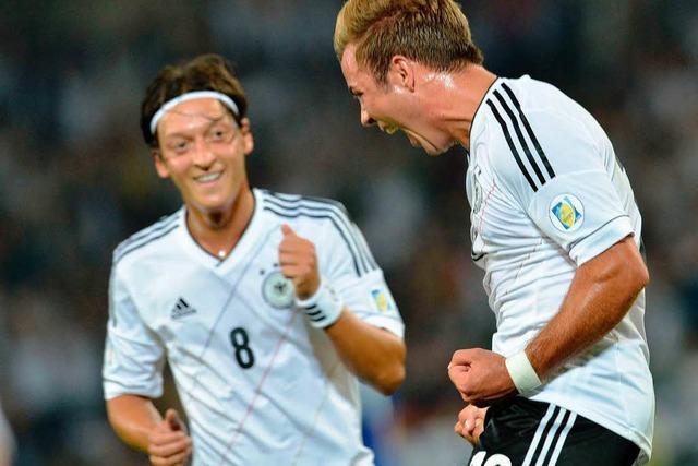 Deutschland siegt gegen Färöer 3:0