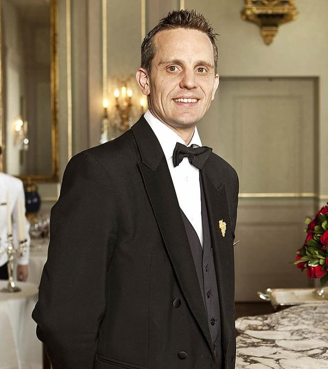 Christoph Kokemoor, der in Ihringen wo...hweiz zum Sommelier des Jahres gekürt.  | Foto: Grand Hotel Les Trois