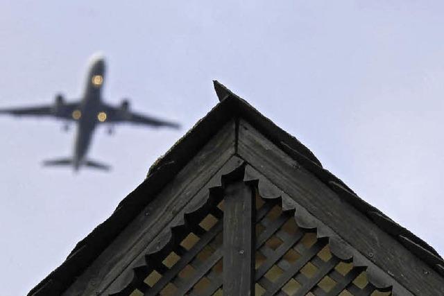 Guhl sorgt sich wegen Fluglärms