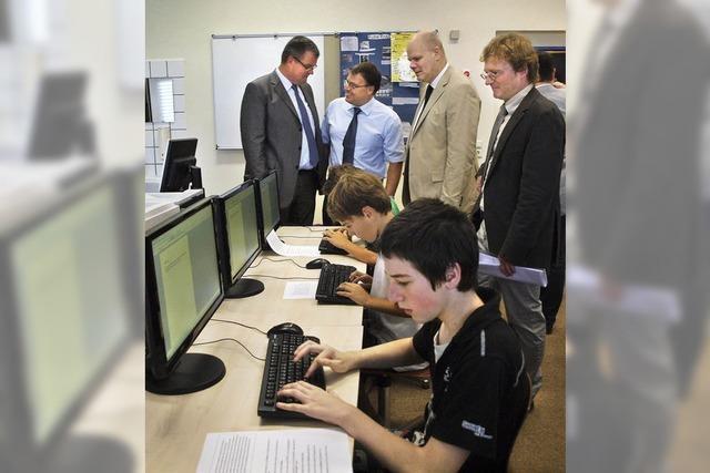 Neue Computer für die Werkrealschule