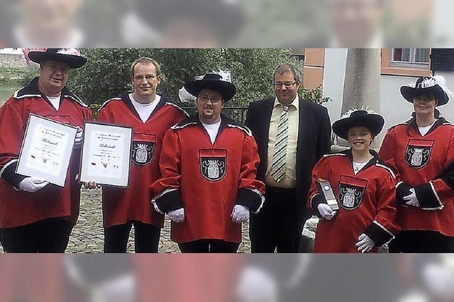 Fahnenschwinger sind deutsche Vizemeister