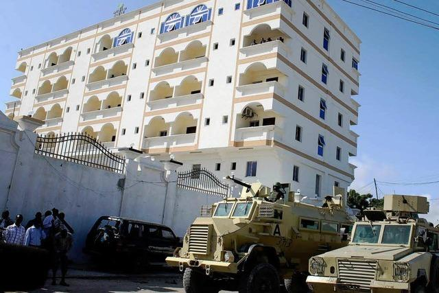 Somalia: Wie BZ-Korrespondent Dieterich den Anschlag erlebt hat