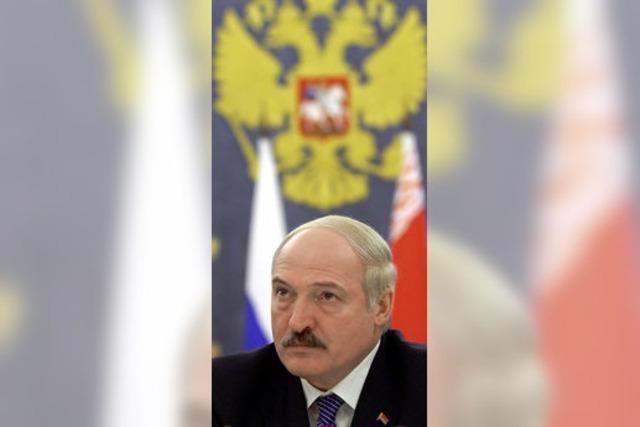 Lukaschenko eröffnet die Jagd