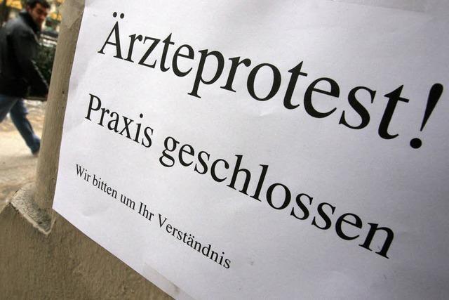 Ärzte wollen für flächendeckenden Streik Praxen schließen
