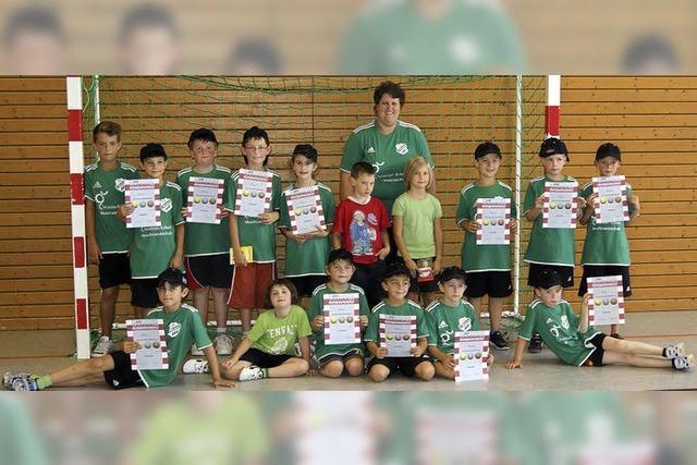 Die Handballstars von morgen