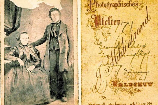 Fotogeschichte auf einer Briefmarke