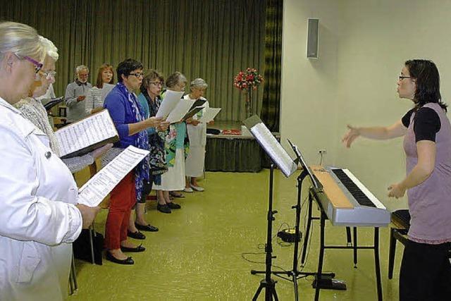 Domchor übt Haydn-Messe ein