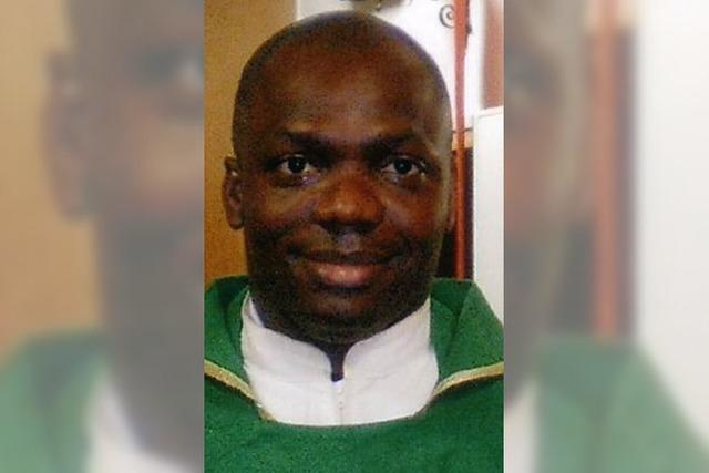 Pater Okocha aus Nigeria nun Kooperator