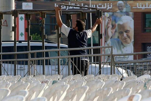 Benedikt XVI. reist in unruhiger Zeit in den Libanon