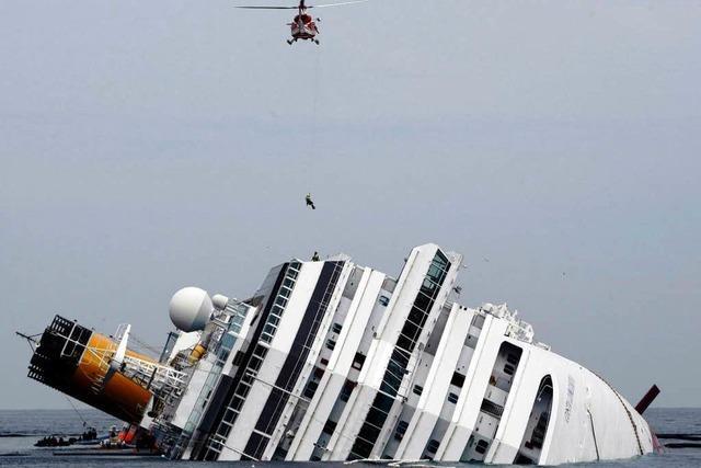 Costa Concordia: Schettino nicht allein Schuld