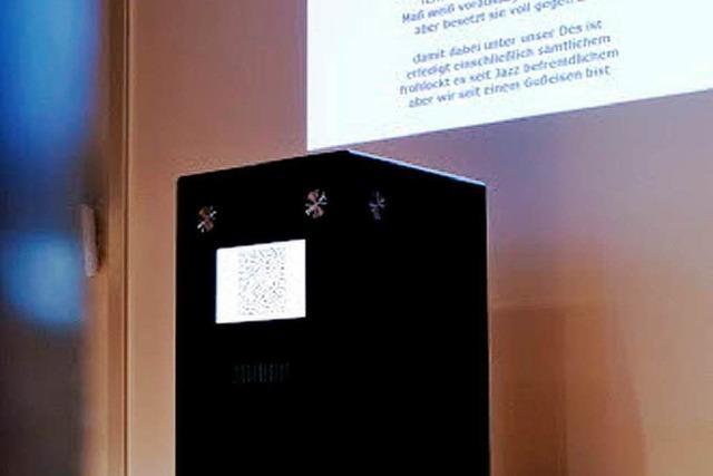 Freiburger bauen digitalen Gedichtgenerator: die Reimbox