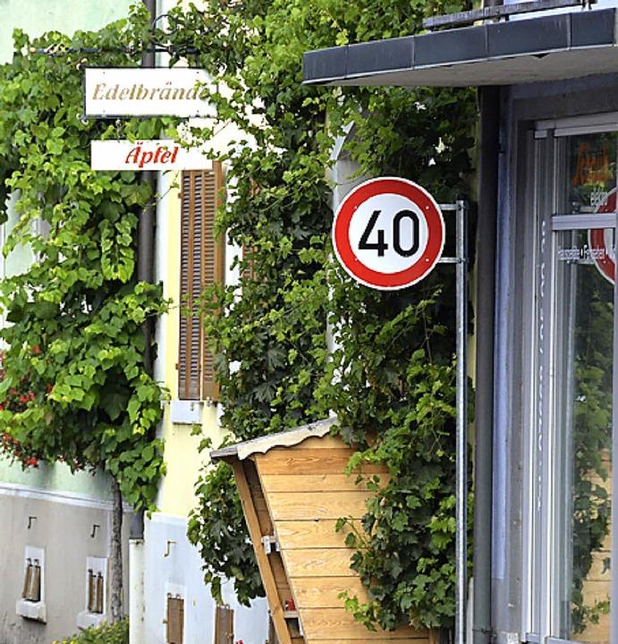 Wer durch Gottenheim, Wasenweiler oder...e Vielzahl von Geschwindigkeitszonen.   | Foto: agnes pohrt