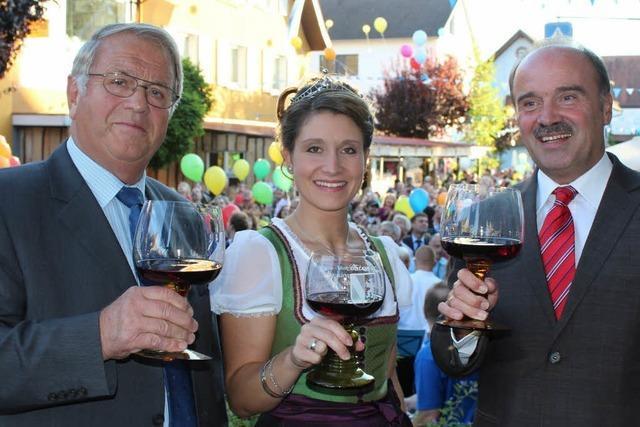 Bötzinger Dorf- und Weinfest ist eröffnet