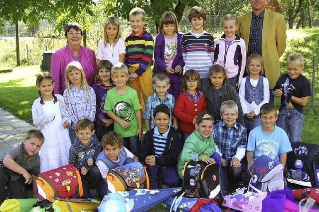 Für 21 Kinder hat Schulleben begonnen