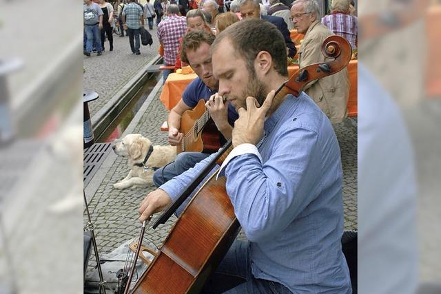 Live-Musik auf den Straßen