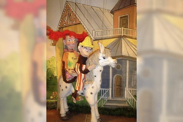 Marionetten-Theater Cinderella im Bürgerhaus Seepark