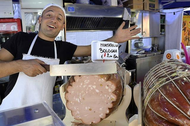 Italienische Woche auf dem Marktplatz