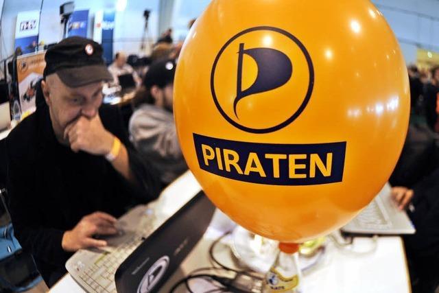 Piratenpartei sucht noch nach ihrer Rolle