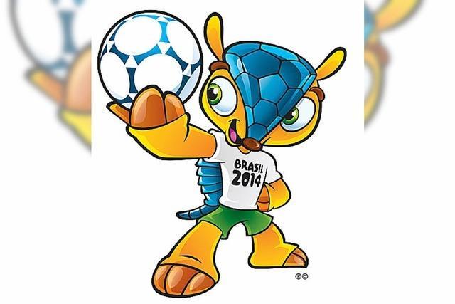 Fußball-WM in Brasilien: So sieht das Logo aus