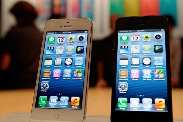 Neues I-Phone treibt Apple-Aktie auf Höchststand