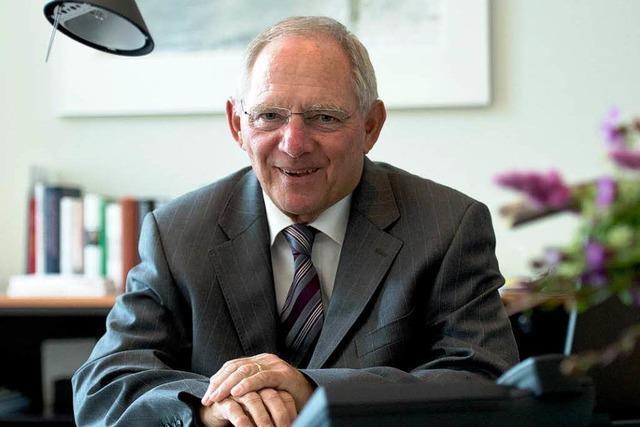 Wolfgang Schäuble: Der ruhende Pol der Koalition